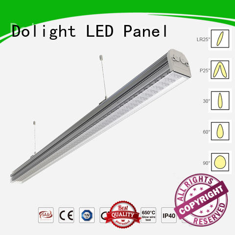 trunk angle frosted installation Dolight LED Panel Brand linear light fixture supplier