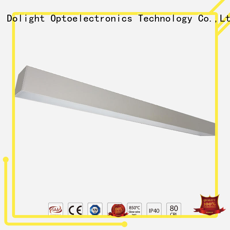 Dolight LED Panel grille suspended linear led lighting company for office