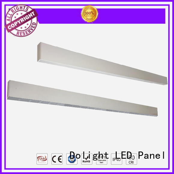 Dolight LED Panel 90lmw suspended linear led lighting company for office