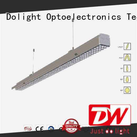 Dolight LED Panel Custom linear light fixture company for offices