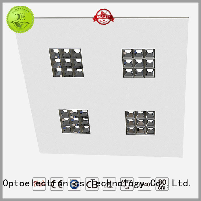 Latest led grille panel light efficiency supply for motels