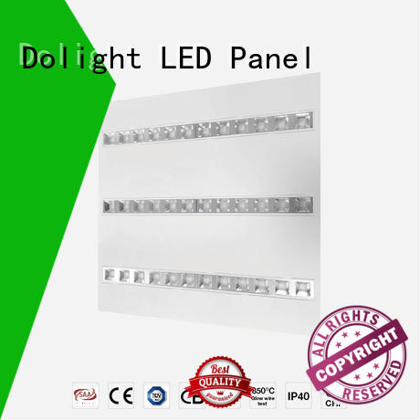 Dolight LED Panel lens led grille panel light suppliers for hospitals