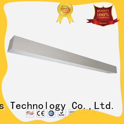 Dolight LED Panel grille linear led pendant light wholesale for corridor