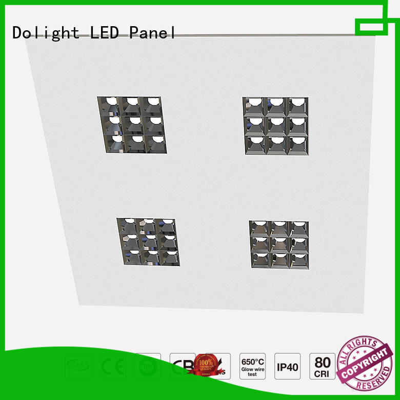 Custom flat panel led lights changeable for business for motels