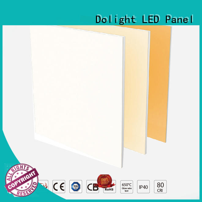 Top surface mounted led panel light remote for business for conference