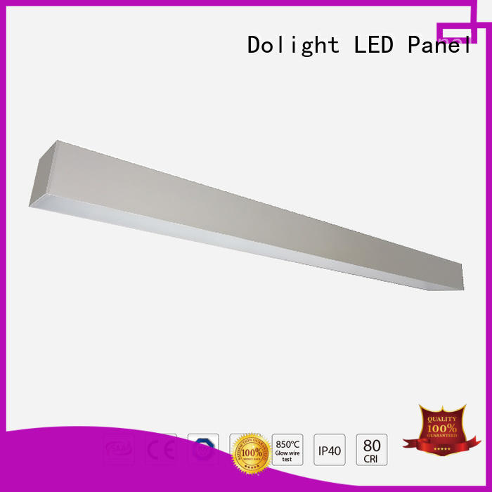 Dolight LED Panel High-quality commercial linear pendant lighting suppliers for school