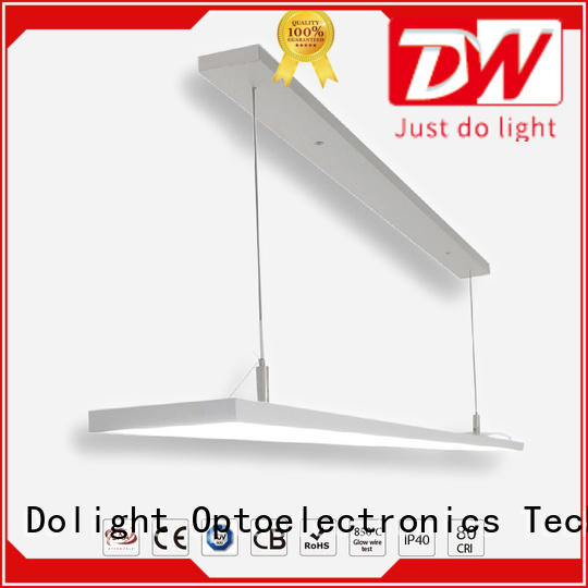 Latest linear pendant lighting library for sale for offices