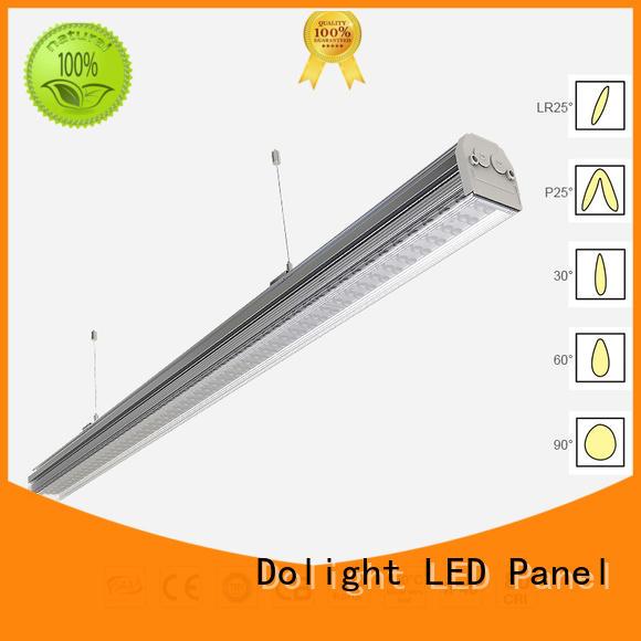 Dolight LED Panel lens linear light fixture for business for supermarket