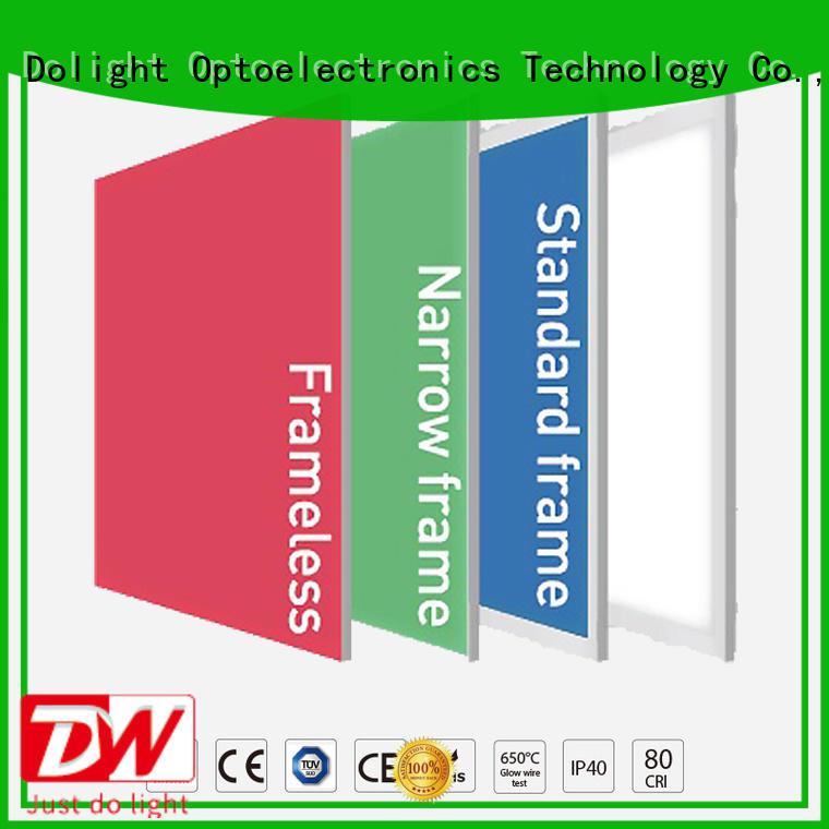 frameless light Dolight LED Panel Brand rgbw panel