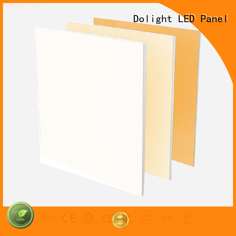 professional recessed led panel light cct supplier for retail / shopping