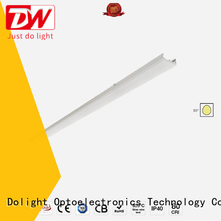 Dolight LED Panel high quality linear light fitting supplier for corridors