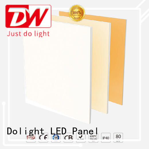 Custom recessed led panel light tunable supply for commercial offices