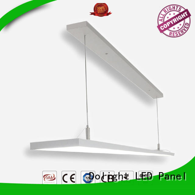 Dolight LED Panel Brand special suspending pendant led thin panel lights design
