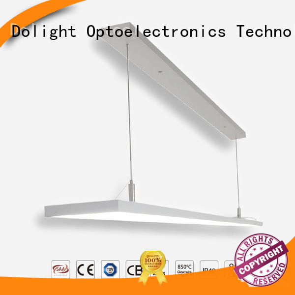 Dolight LED Panel narrow linear pendant lighting suppliers for library