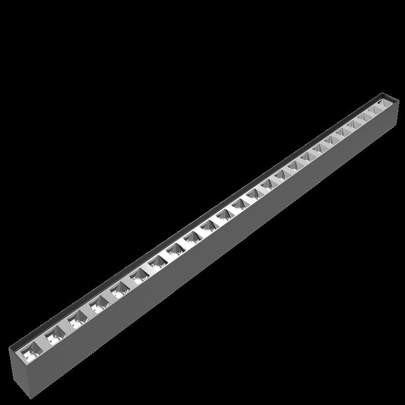 Suspension reflector LED Linear light 120lm/w UGR<19