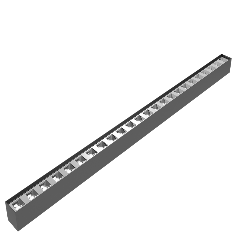 Suspension reflector LED Linear light 120lm/w UGR<19