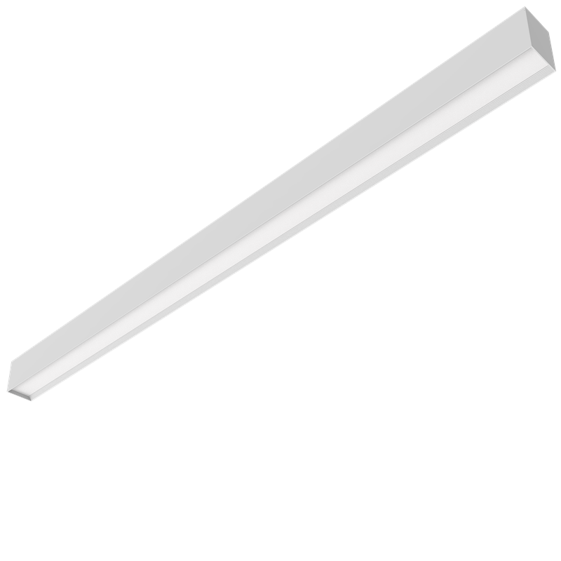 Suspension Opal Led Linear light 90lm/w UGR<19