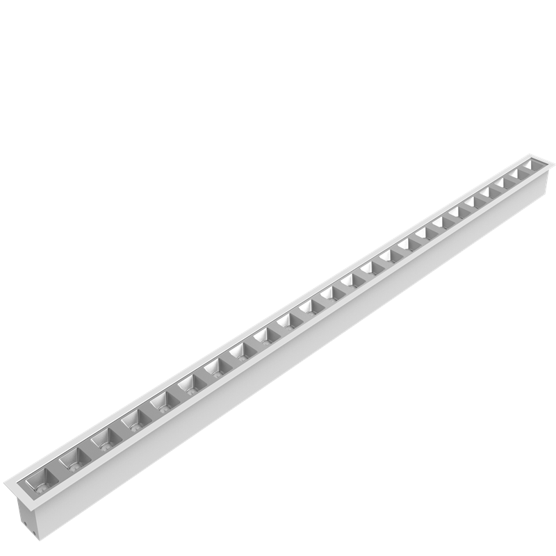 Recessed Reflector Led Linear light 120lm/w UGR<19