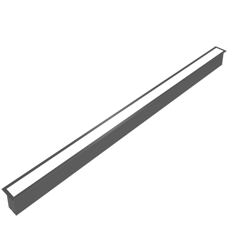 High efficiency Recessed Opal LED Linear Light