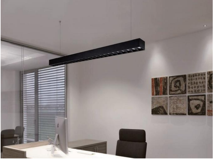 Dolight LED Panel moudule linear suspension lighting for business for home