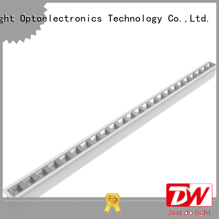 Dolight LED Panel Top linear suspension lighting company for school