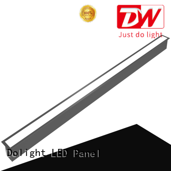 Dolight LED Panel opal linear recessed lighting for business for school