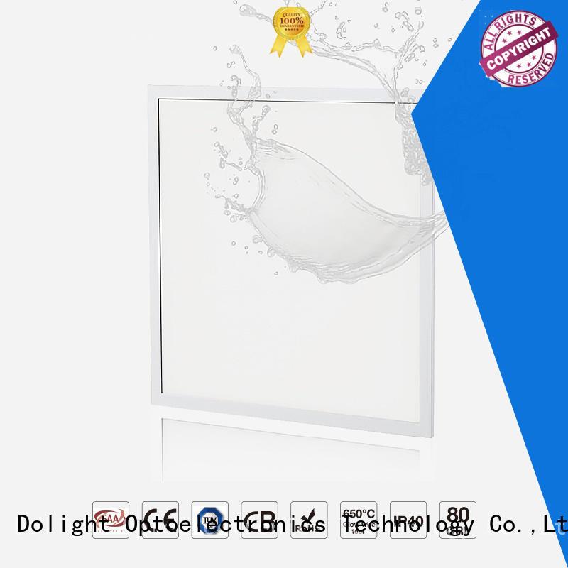 panel led ip65 hospital Dolight LED Panel Brand ip65 led panel frontside  waterproof