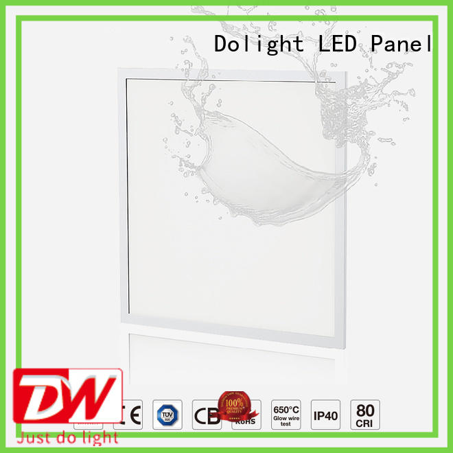 Dolight LED Panel Top led panel ip65 factory for commercial Offices for retail/shopping Malls for clean room/hospital