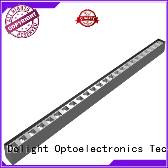 Dolight LED Panel opal linear ceiling light suppliers for school