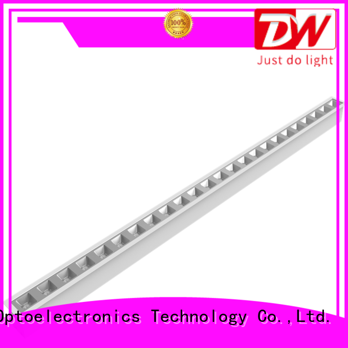 Custom aluminium profile for led strip lighting down supply for shops
