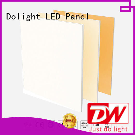 Dolight LED Panel control recessed led panel light company for malls hotels