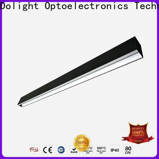 Top led linear pendant reflector factory for corridor