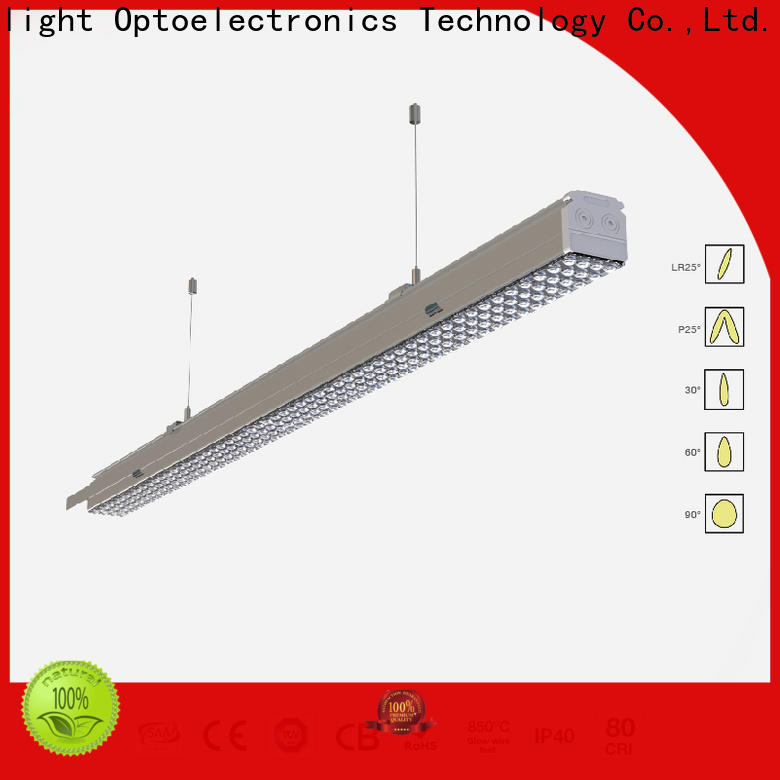 Latest led linear suspension lighting led for sale for offices