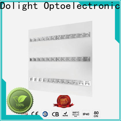 Custom led panel ceiling lights lumen factory for commercial Offices for retail/shopping Malls for clean room/hospital