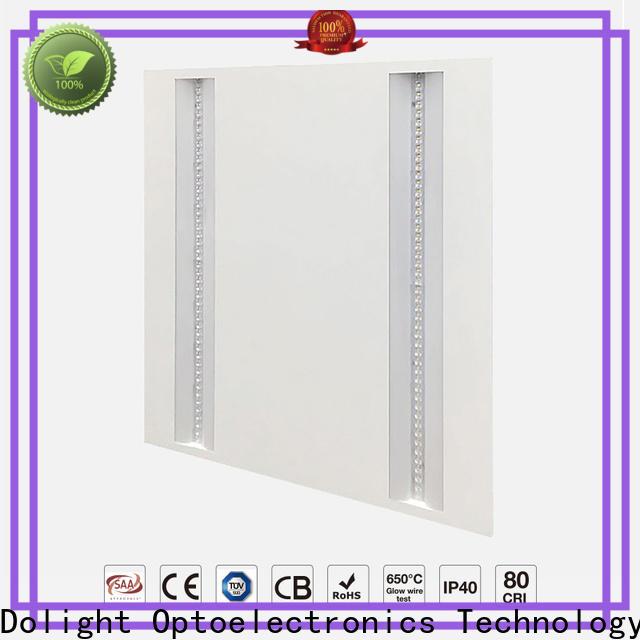Custom grille led panel backlite company for showrooms