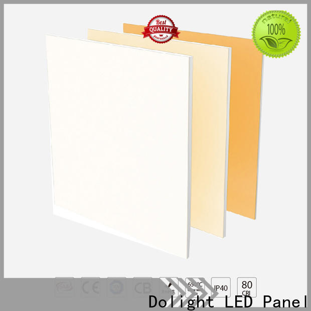 Top recessed led panel light cct for business for meeting rooms