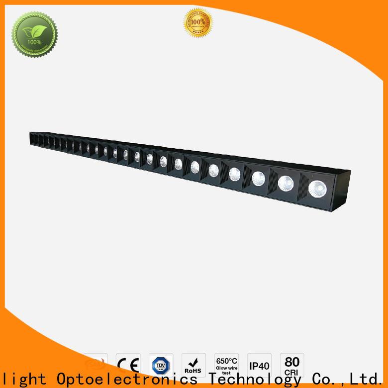 Dolight LED Panel glare led linear suspension lighting company for corridor