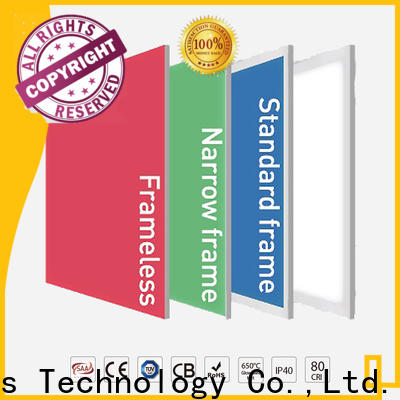 Wholesale rgbw panel frameless for sale for showrooms