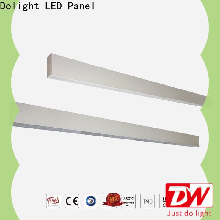 Dolight LED Panel diffuser linear led pendant light company for school