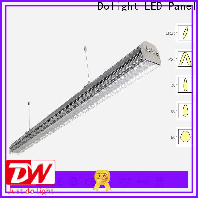 Dolight LED Panel waterproof linear light fixture factory for boardrooms