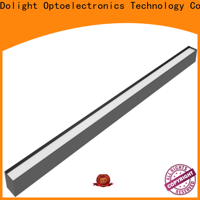 Dolight LED Panel Top led linear suspension lighting factory for school