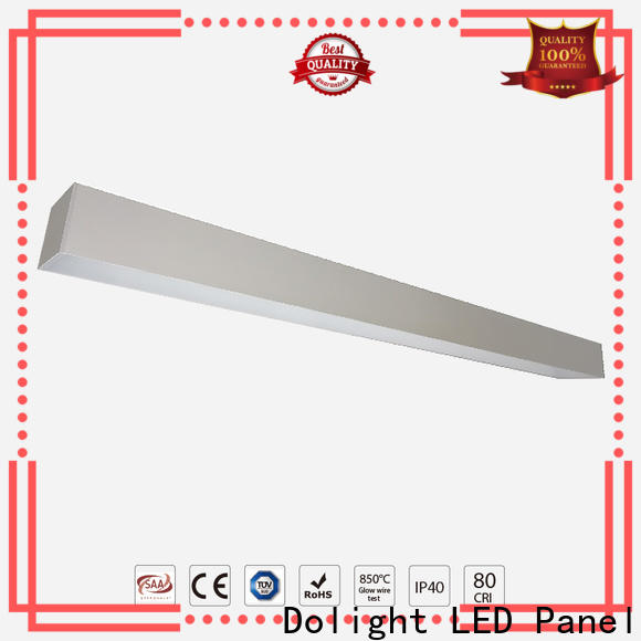 Dolight LED Panel wash recessed linear led lighting company for shops