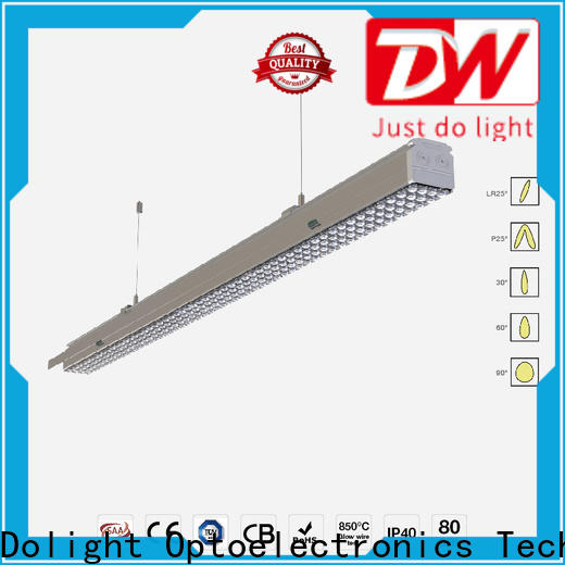 Top led trunking light cover supply for corridors