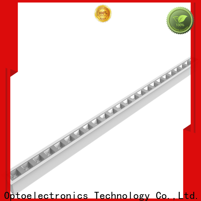Latest led linear fixture glare for sale for school