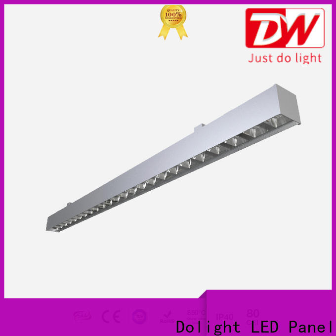Dolight LED Panel Wholesale suspended linear led lighting company for corridor