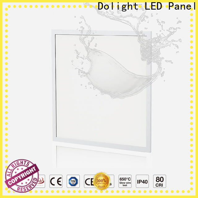 Dolight LED Panel Custom ip rated led panel company for commercial Offices for retail/shopping Malls for clean room/hospital
