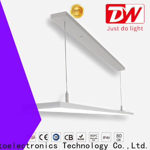 High-quality linear led pendant office manufacturers for bookstore